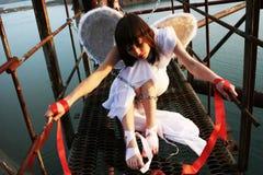 天使监狱 免版税库存照片