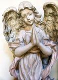 天使祈祷 免版税图库摄影