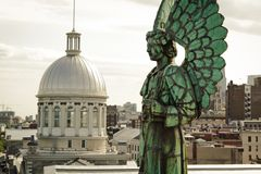 天使纪念碑 免版税库存照片