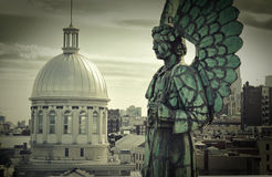 天使纪念碑 免版税库存图片