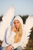 天使纵向 免版税图库摄影