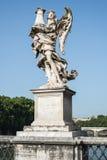 天使罗马雕象 库存图片