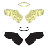 天使翼 库存图片