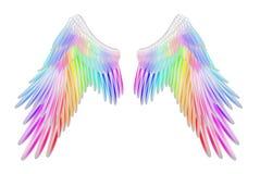 天使翼 皇族释放例证