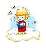 天使耶稣歌曲 库存照片