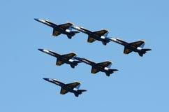 天使蓝色海军我们 库存图片