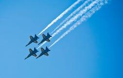 天使蓝色海军 免版税库存图片