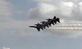 天使蓝色海军s我们 库存照片