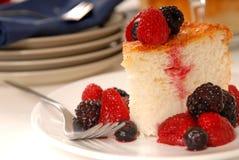 天使蛋糕食物 免版税库存图片
