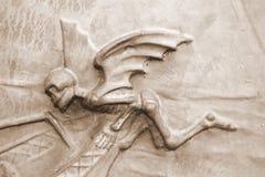 天使被定调子的死亡乌贼属 免版税库存照片