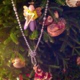 天使装饰品珍珠 免版税库存图片