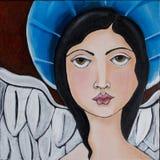 天使重点 向量例证