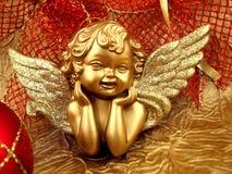 天使金子 免版税库存照片