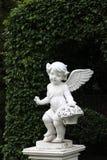 天使雕塑 免版税图库摄影