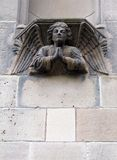天使雕塑 图库摄影