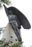 天使雕塑 免版税库存图片