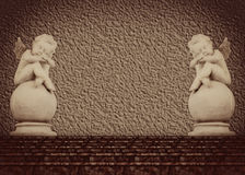 天使雕象二 图库摄影