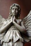 天使雕象4 库存照片