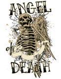 天使死亡 库存图片
