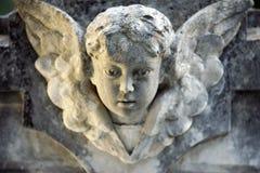 天使婴孩纵向 免版税库存图片