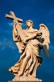天使贝尔尼尼的大理石象  图库摄影