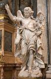 天使ignacio ・罗马圣雕象 免版税图库摄影