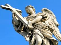 天使sant安吉洛的castel 图库摄影