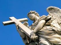 天使sant安吉洛的castel 免版税图库摄影