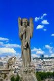 天使trupet 库存照片