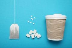 天冬酰苯丙氨酸甲酯糖精,人为糖 饮食食物概念 免版税库存照片