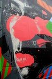 天分,五行民谣,爱尔兰, 2014年10月的五颜六色的例子在街道艺术家的 免版税库存照片