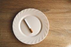 今天在早晨comon的` s早餐 免版税库存图片