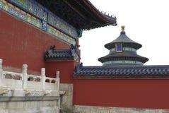 天坛在多云天,北京 免版税库存图片