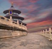 天坛(天堂法坛),北京,中国 库存照片