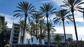 天堂加利福尼亚喷泉  免版税库存照片