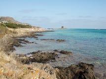 天堂在撒丁岛 库存图片