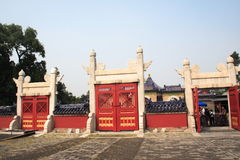 天堂寺庙 库存图片