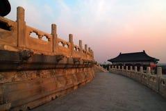 天堂寺庙 图库摄影