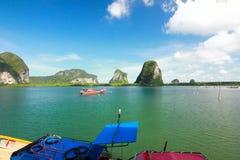 天堂海岛在董里府,泰国 免版税库存图片