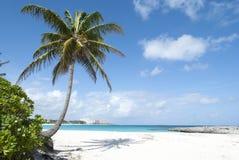 天堂海岛海滩 免版税库存照片