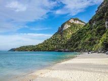 天堂海岛风景 免版税库存照片