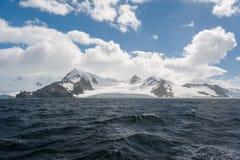天堂海湾在南极洲 免版税图库摄影
