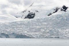 天堂海湾,南极洲 图库摄影
