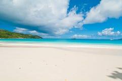 天堂海滩 免版税库存照片