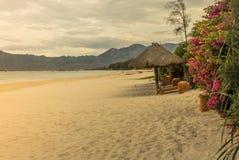 天堂海滩在桂海 免版税图库摄影