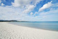 天堂海滩 库存照片