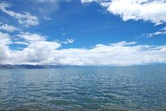 天堂湖  图库摄影