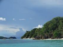 天堂热带海岛海滩, Coron,菲律宾 库存图片