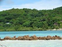 天堂热带海岛, Coron,菲律宾 库存照片