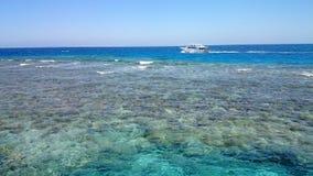 天堂珊瑚礁 库存照片